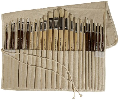 Brushes For Oil Painting Oil And Acrylic Brush Set