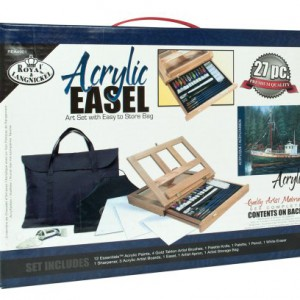 Royal-Langnickel-Acrylic-Easel-Art-Set-with-Easy-to-Store-Bag-0
