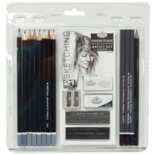 Royal-Langnickel-Essentials-Sketching-Pencil-Set-21-Piece-0